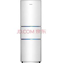 创维(Skyworth)BCD-203T 203升三门冰箱 自动低温补偿 节能静音 家用经济型冰箱(银)