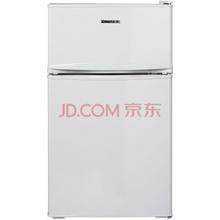 奥马(Homa) BCD-85 85升 冷藏冷冻节能 家用双门小冰箱 白色