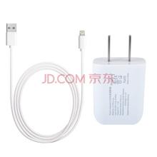 圣迪威(Sendio)苹果充电器线套装(1A充电器+7数据线)适用iphone6S/Plus/5/5S/5C ipad4/5/air mini2/3