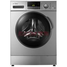 美的(Midea)MG80-1213EDS 8公斤变频滚筒洗衣机 大容量 (银色)