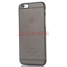 邦克仕(Benks)苹果iPhone6/6s手机壳/保护套 4.7英寸 苹果6s手机套 磨砂全包硬壳 棒棒糖系列 神秘黑