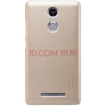 耐尔金(NILLKIN)小米红米note3 磨砂手机保护壳/保护套/手机套 金色