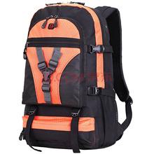 SVVISSGEM登山包 45L大容量户外男女双肩背包 笔记本电脑包14.6寸 学生书包 SA-9837橙色