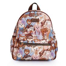 DANNY BEAR丹尼熊 梦幻熊系列女式双肩包 DBWS156010-126 棕色