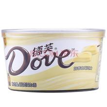 德芙Dove巧克力分享碗装 奶香白巧克力糖果巧克力休闲零食252g