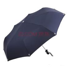 天堂伞晴雨伞 经典商务强力拒水一甩干折叠雨伞一键开合男女士便携自动伞 3331E 58CM/8K 3#藏青色
