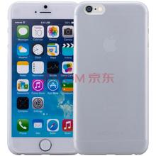摩米士 iPhone 6s/6保护壳/手机壳 0.3mm纤薄 苹果6/6s纤薄新体验 4.7英寸 透明白