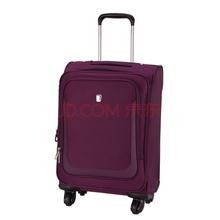爱华仕(OIWAS)拉杆箱 6113 轻盈万向轮密码锁休闲行李箱 商务出差旅行箱 24英寸紫色