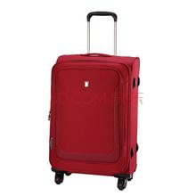 爱华仕(OIWAS)拉杆箱 6113 轻盈万向轮密码锁休闲行李箱 商务出差旅行箱 24英寸红色