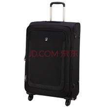 爱华仕(OIWAS)拉杆箱 6113 轻盈万向轮密码锁休闲行李箱 商务出差旅行箱 24英寸黑色