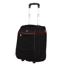 爱华仕(OIWAS)拉杆箱商务休闲旅行时尚登机箱包 6018 黑色 18寸