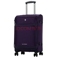 爱华仕(OIWAS)飞机轮拉杆箱6098 休闲登机行李箱 男女出差商务旅行箱 20英寸紫色