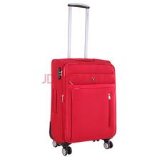 爱华仕(OIWAS)万向轮商务休闲旅行箱 出差行李箱 男女拉杆箱6095 红色24寸