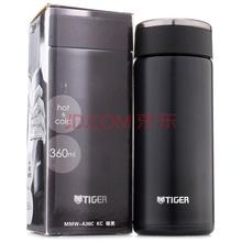 虎牌(Tiger) 保温杯 360ml不锈钢真空超轻直身办公泡茶MMW-A36C-KC