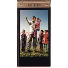 三星 W2015 金色 电信4G手机 双卡双待双通