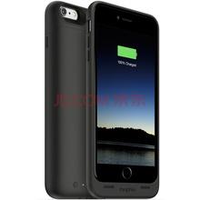 Mophie 聚合物 2600毫安 苹果背夹电池 充电宝/移动电源 适用于iPhone6/6S PLUS 苹果认证 商务款 黑色