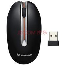 联想(Lenovo)N3903 光学无线鼠标 黑色