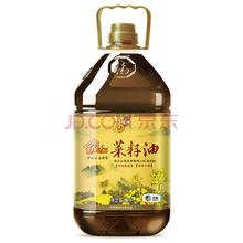 福临门家香味高原菜籽油5L(非转基因) 中粮出品