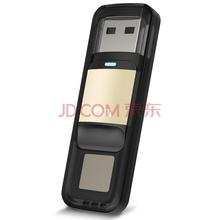 DM PD061 64G 指纹加密 数据安全U盘 USB2.0(金色)