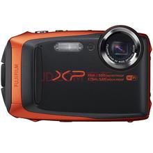 富士(FUJIFILM)XP90 四防卡片机 活力橙 运动相机 防水防尘防震防冻 5倍光学变焦 WIFI分享 光学防抖