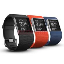 Fitbit Surge 智能乐活手环 GPS全球定位 心率实时检测 多项运动模式 智能手表 黑色L