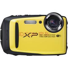 富士(FUJIFILM)XP90 四防卡片机 劲柠黄 运动相机 防水防尘防震防冻 5倍光学变焦 WIFI分享 光学防抖