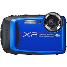 富士(FUJIFILM)XP90 四防卡片机 自由蓝 运动相机 防水防尘防震防冻 5倍光学变焦 WIFI分享 光学防抖