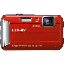 松下 Lumix DMC-TS30 数码相机/运动相机 红色 (防水 防尘 防摔 防冻 TS25升级版)