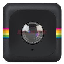 宝丽来(Polaroid)CUBE 运动相机 黑色 (1080P高清 124度广角 600万像素 F2.0光圈 防水设计 内置锂电池)