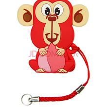 朗科(Netac)U286 16G 猴年纪念版 萌猴闪存盘 隐藏推拉式接口