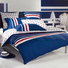 多喜爱家纺 运动风潮纯棉双人床单四件套1.8米床