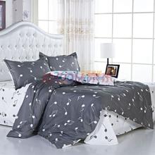 好伴侣 全棉高密双人床单四件套1.5米床  动人音符