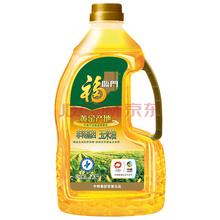 福临门黄金产地玉米油1.8L 中粮出品