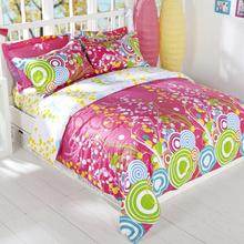 多喜爱家纺 畅想曲韩式婚庆床品纯棉双人床单四件套1.5米床