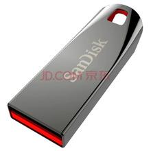 闪迪(SanDisk) 酷晶(CZ71) 8G金属迷你创意U盘 银灰色