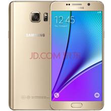 三星 Galaxy Note5(N9200)32G版 铂光金 全网通4G手机 双卡双待