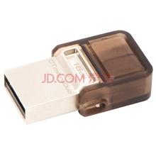 金士顿(Kingston)DTDUO 16GB OTG micro-USB 和 USB双接口 手机U盘