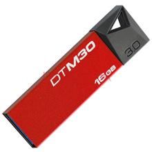 金士顿(Kingston)DTM30R 16GB USB3.0 精致炫薄金属U盘