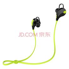 QCY QY7 尖叫 无线运动立体声蓝牙耳机 音乐耳机 通用型 入耳式 黑绿色