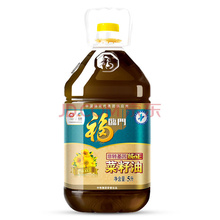 福临门非转基因纯正菜籽油5L 中粮出品