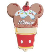 迪士尼(Disney)卡通系列/ 冰激凌 8GB 可爱创意礼品 U盘 甜心米奇