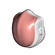 原森态电动口罩防雾霾智能口罩防雾霾pm2.5 粉色【成人】