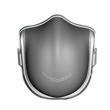 原森态电动口罩防雾霾智能口罩防雾霾pm2.5 灰色【成人】