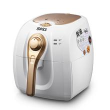 SKG 4625 智能3L大容量炸薯条机空气电炸锅家用易清洗无油白色