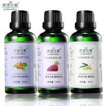 伊诗兰顿基础油3件套装 玫瑰果油 橄榄油 葡萄籽油 调配基底精油