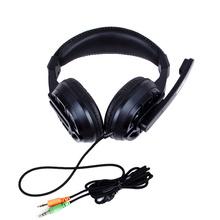 森麦 SM-PC629台式电脑头戴式游戏耳机带麦克风 笔记本双插头语音