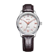 飞亚达(FIYTA)手表 石英皮带情侣腕表 锋逸系列男款DG0056.WWR