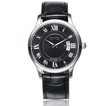 飞亚达(FIYTA)手表 卓雅系列机械男表黑盘皮带DGA0006.WBB