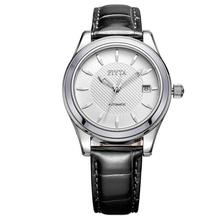 飞亚达(FIYTA)手表 经典系列机械男表白盘黑带DGA0030.WWB