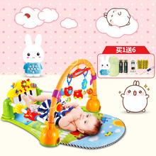 贝恩施新生婴儿脚踏钢琴宝宝健身架器带音乐0-1岁3-6-12个月玩具【豪华款】8868 |